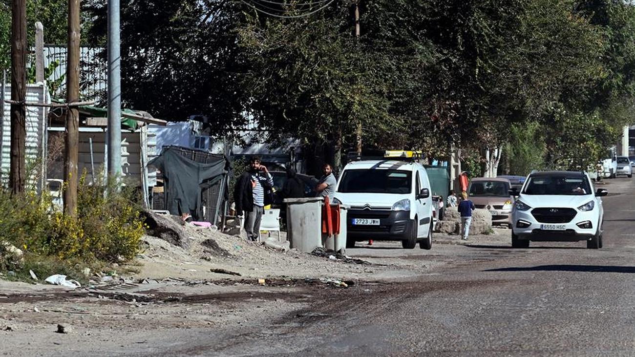 Ocho plantaciones de marihuana desmanteladas en la Cañada Real