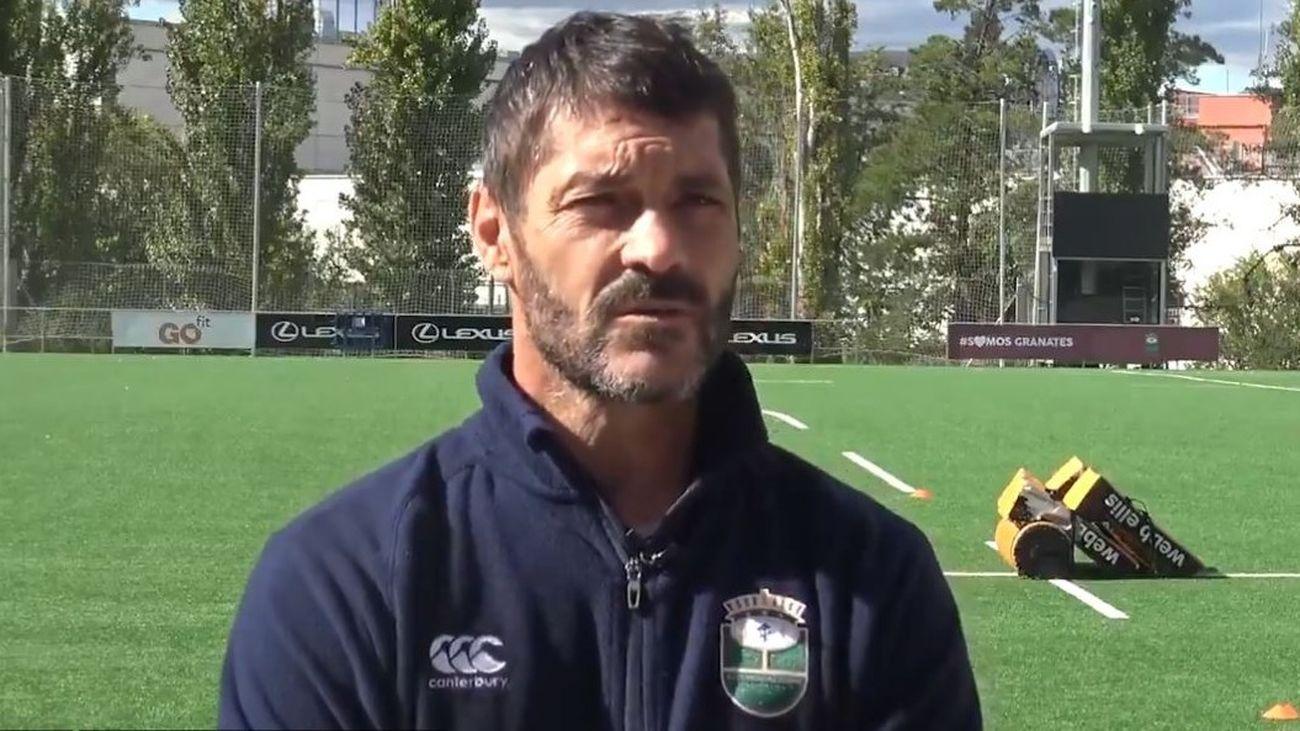 """Inchausti tras ganar la Copa de rugby: """"Ha sido un año excelente"""""""