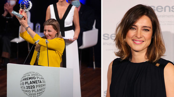 Eva García y Sandra Barneda, las dos triunfadoras de los premios Planeta de la pandemia