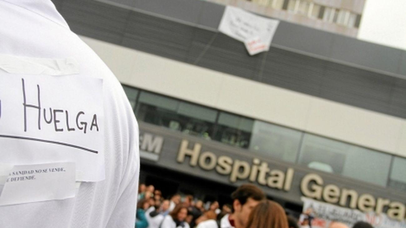 Convocados paros en los hospitales madrileños a  partir del 27 de octubre
