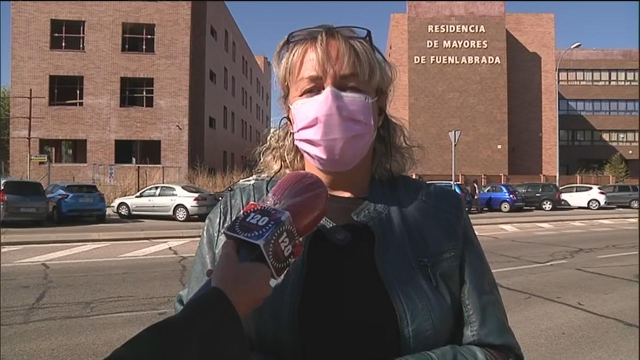 """La denuncia de Marga contra una residencia de Fuenlabrada: """"Creí morir cuando vi que a mi madre no la estaban alimentando"""""""