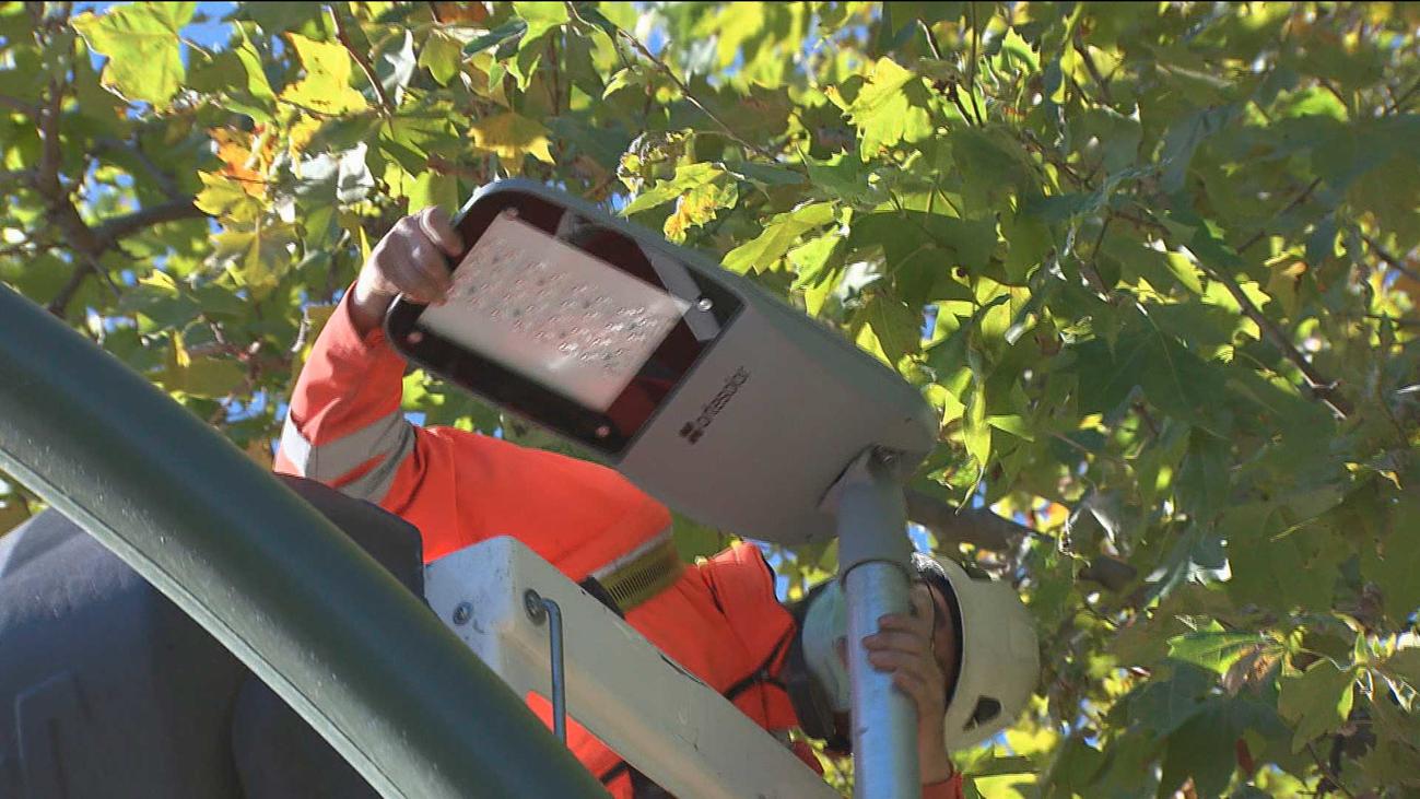 La Comunidad instala luces led en 113 pasos de peatonesde la región para mejora su visibilidad