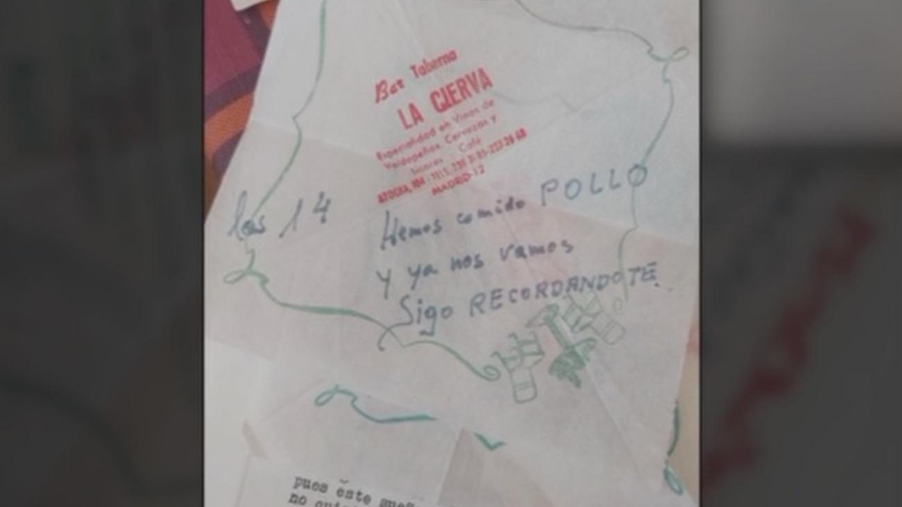Cartas de amor escritas en servilletas