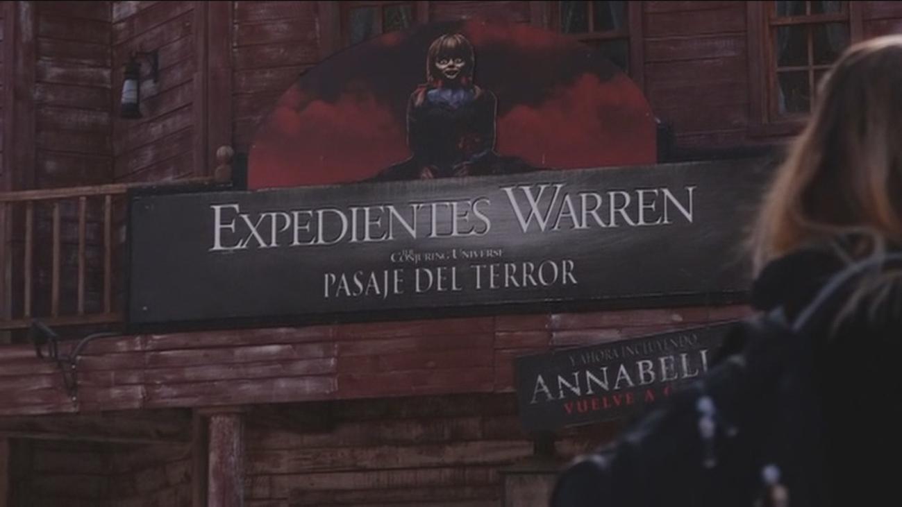 Nos adentramos al pasaje de terror del Parque Warner