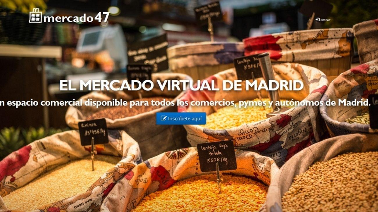 El PSOE indica que sólo se puede comprar on-line en 102 de los 700 puestos de los mercados municipales