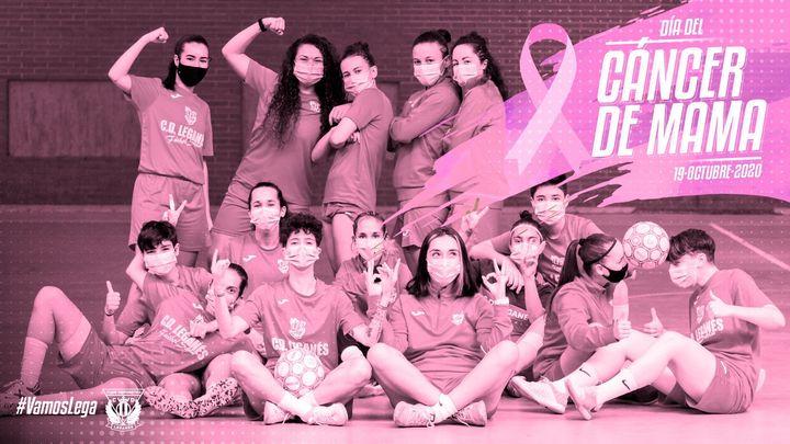 El fútbol modesto madrileño se suma al rosa contra el cáncer de mama