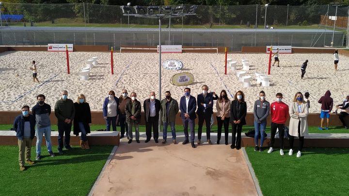 Se inaugura el Centro de Vóley Playa del Parque Deportivo Puerta de Hierro