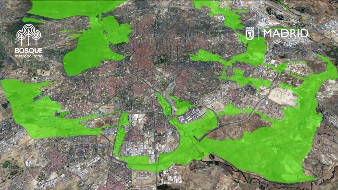 Más de 30 proyectos presentados para el futuro Bosque Metropolitano de Madrid