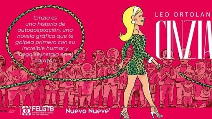 Cinzia, un cómic contra la transfobia en clave de humor