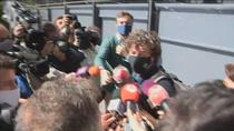 Miguel Bosé y Nacho Palau acuden al juicio para dirimir la doble filiación de los cuatro hijos de la expareja