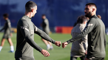 El Atlético se prepara para la batalla contra el Bayern