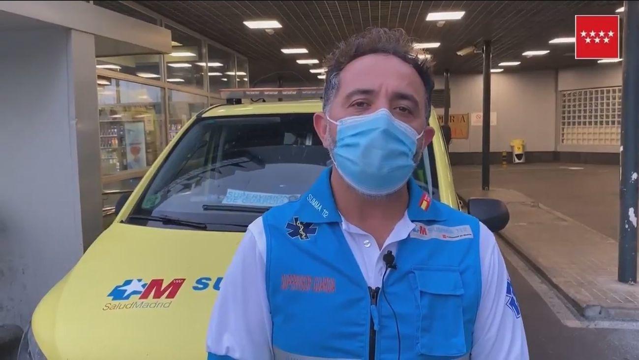 Un hombre grave tras ser apuñalado en una estación de metro de San Sebastián de los Reyes