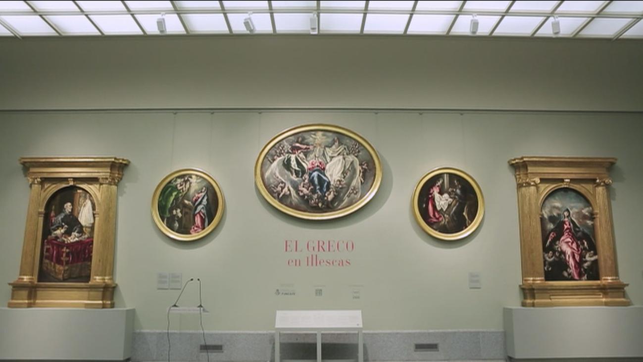 El Prado acoge cinco pinturas del Greco de Illescas