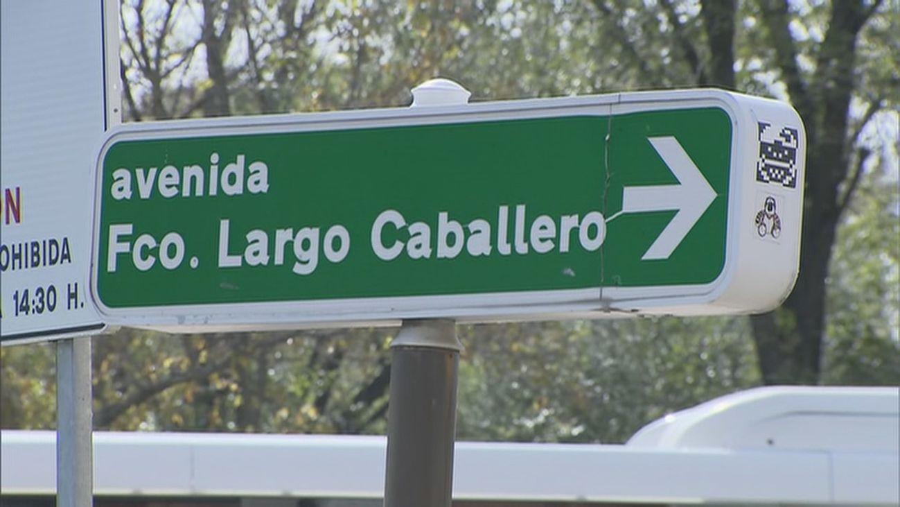 Madrid ya tramita el renombramiento de las calles Largo Caballero e Indalecio Prieto