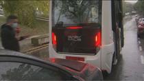 Accidentado estreno del bus 'inteligente' sin conductor de la Autónoma