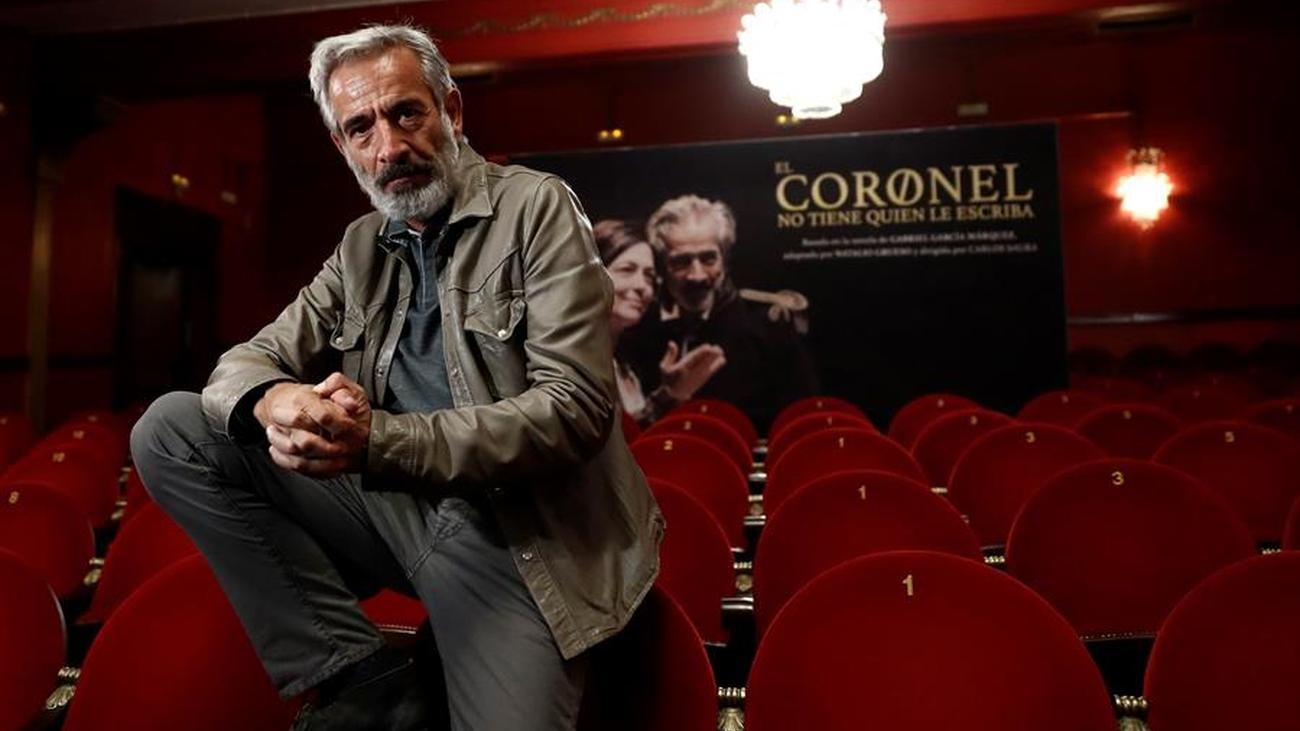 Imanol Arias regresa al Teatro Infanta Isabel con 'El coronel no tiene quien le escriba'