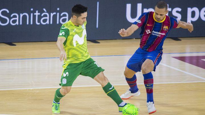 2-3. El Movistar asalta el Palau Blaugrana