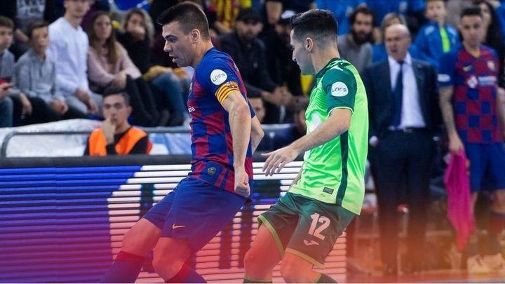 Barça - Movistar Inter, partidazo de fútbol sala este miércoles en Telemadrid.es