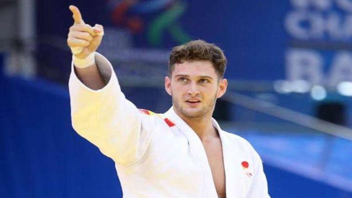 El judoca de Brunete Sherazadishvili busca el oro en Budapest