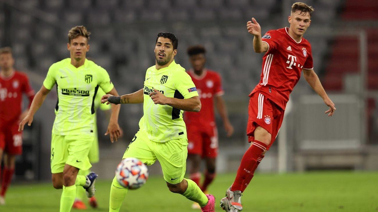 4-0. El Atlético cae en Munich ante un autoritario Bayern