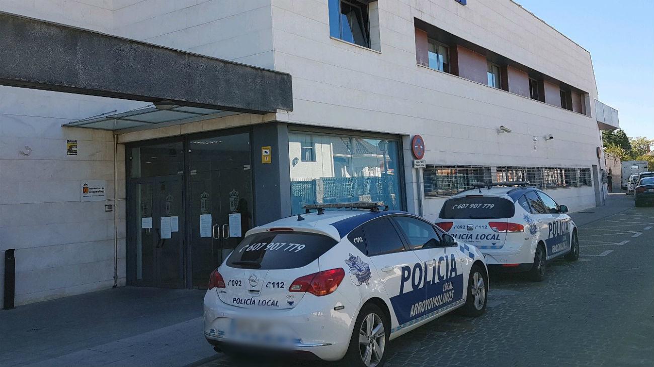 Vehículos de la Policía Local de Arroyomolinos
