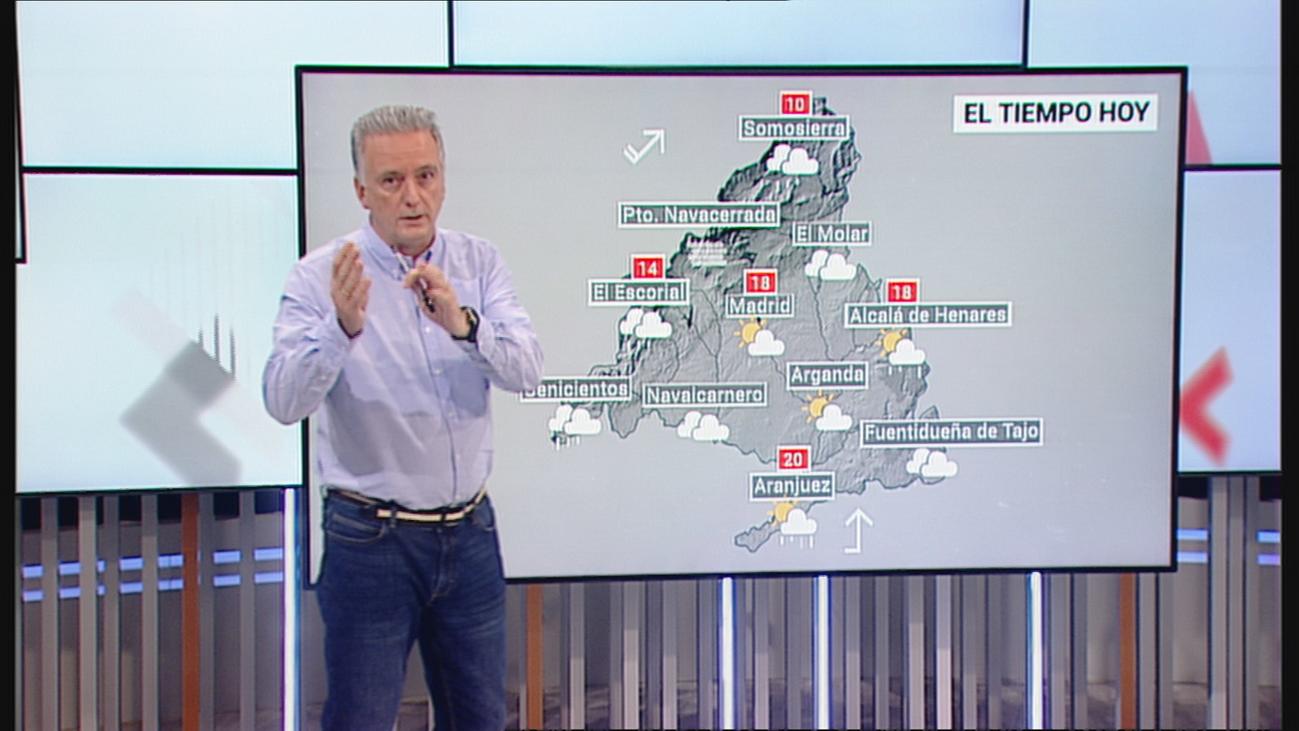 Miércoles con más lluvia y viento en Madrid, aunque la borrasca Bárbara se 'suaviza'