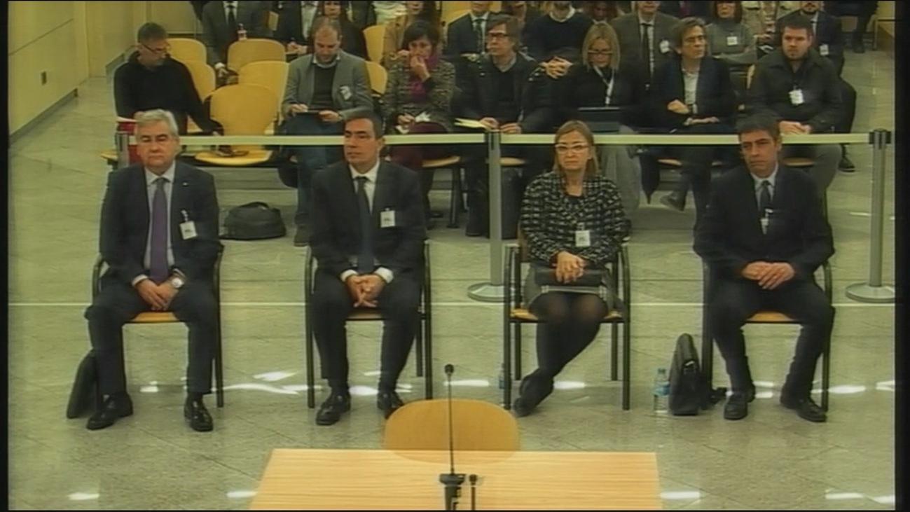 La Audiencia Nacional considera que Trapero no actuó de acuerdo con los líderes del 'procés'
