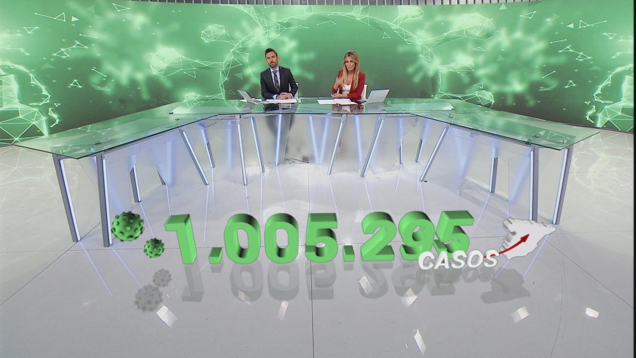 Madrid dice que el Gobierno no puede estar ausente, cuando se alcanza el millón de contagios en España