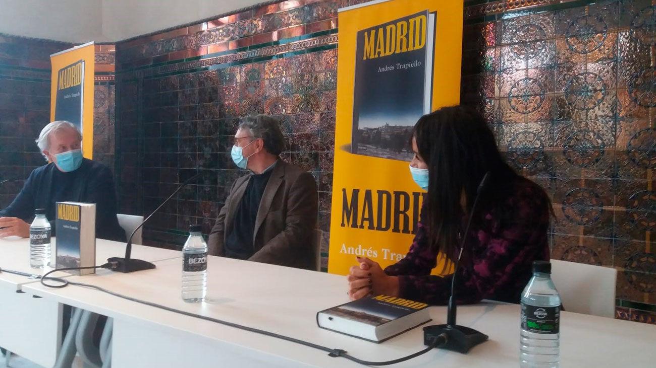 El escritor Andrés Trapiello durante la presentación de su libro