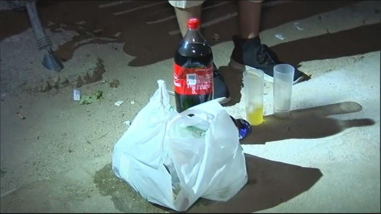 Desmantelada una fiesta ilegal con 67 personas en un polígono de la capital
