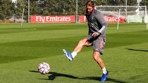 Sergio Ramos fuerza pensando en el clásico