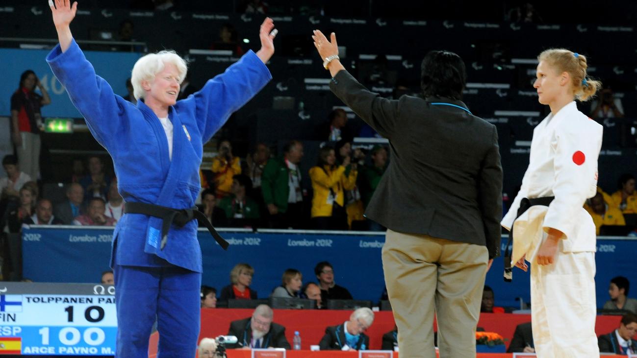 Marta Arce, destacada judoka con una discapacidad visual