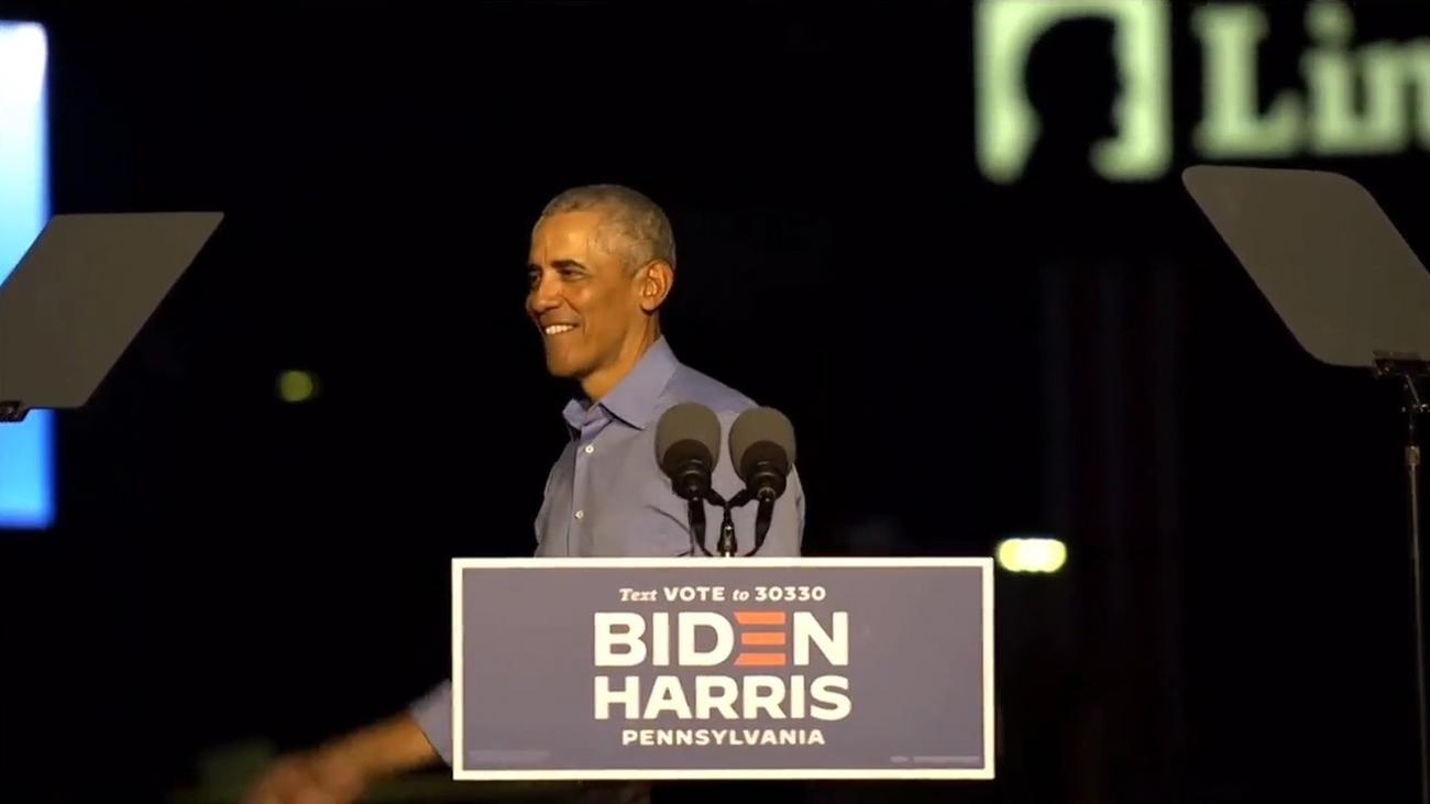Obama pasa a la acción en apoyo de Biden a dos semanas de las elecciones en EEUU