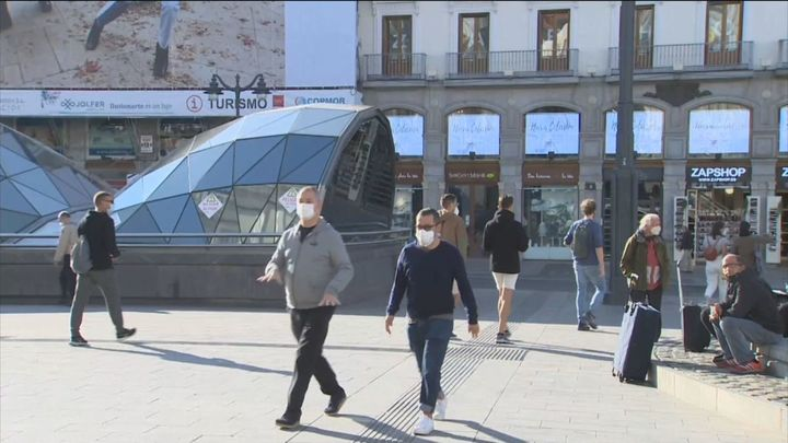 Sanidad notifica 19.851 nuevos casos en España con 231 muertes más