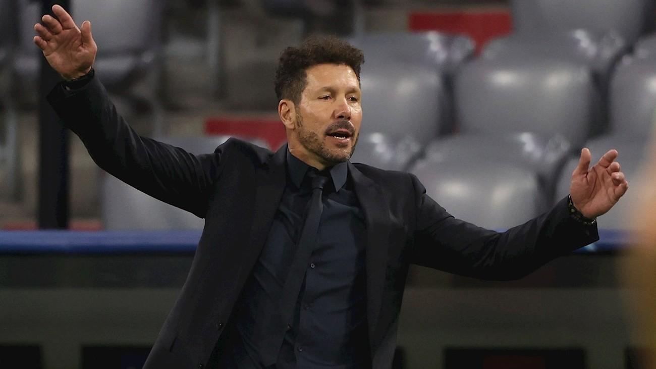 """Simeone: """"Los partidos marcarán si el equipo se repone de lo de Múnich"""""""