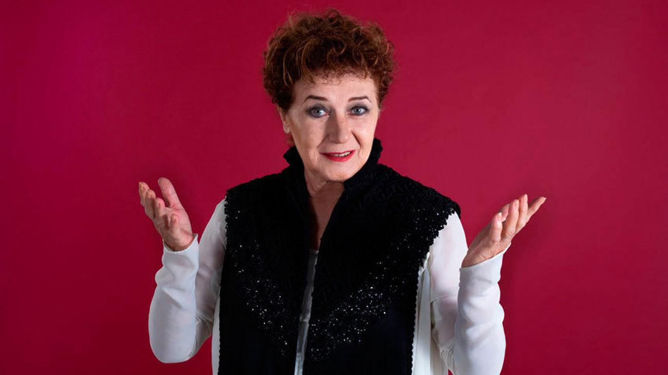Beatriz Carvajal representa la 'cara amable de la muerte' en el teatro Fernán Gómez
