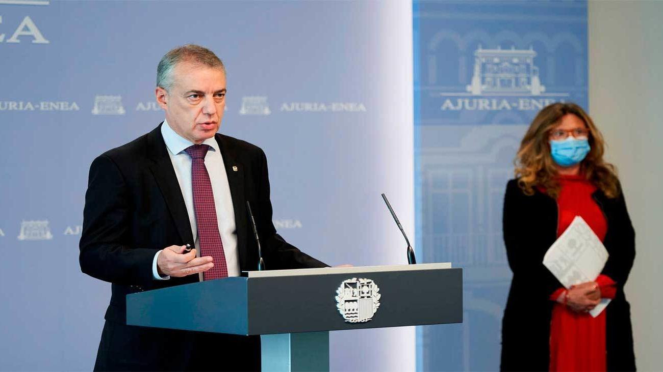 Urkullu solicita a Sánchez el estado de alarma en toda España y que lo gestionen las autonomías