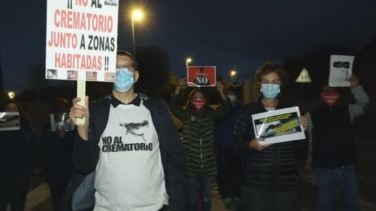 Los vecinos de Valdemoro en 'pie de guerra' contra un crematorio