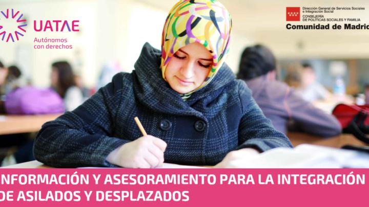Cursos de orientación gratuitos de UATAE para personas refugiadas y procedentes de Latinoamérica