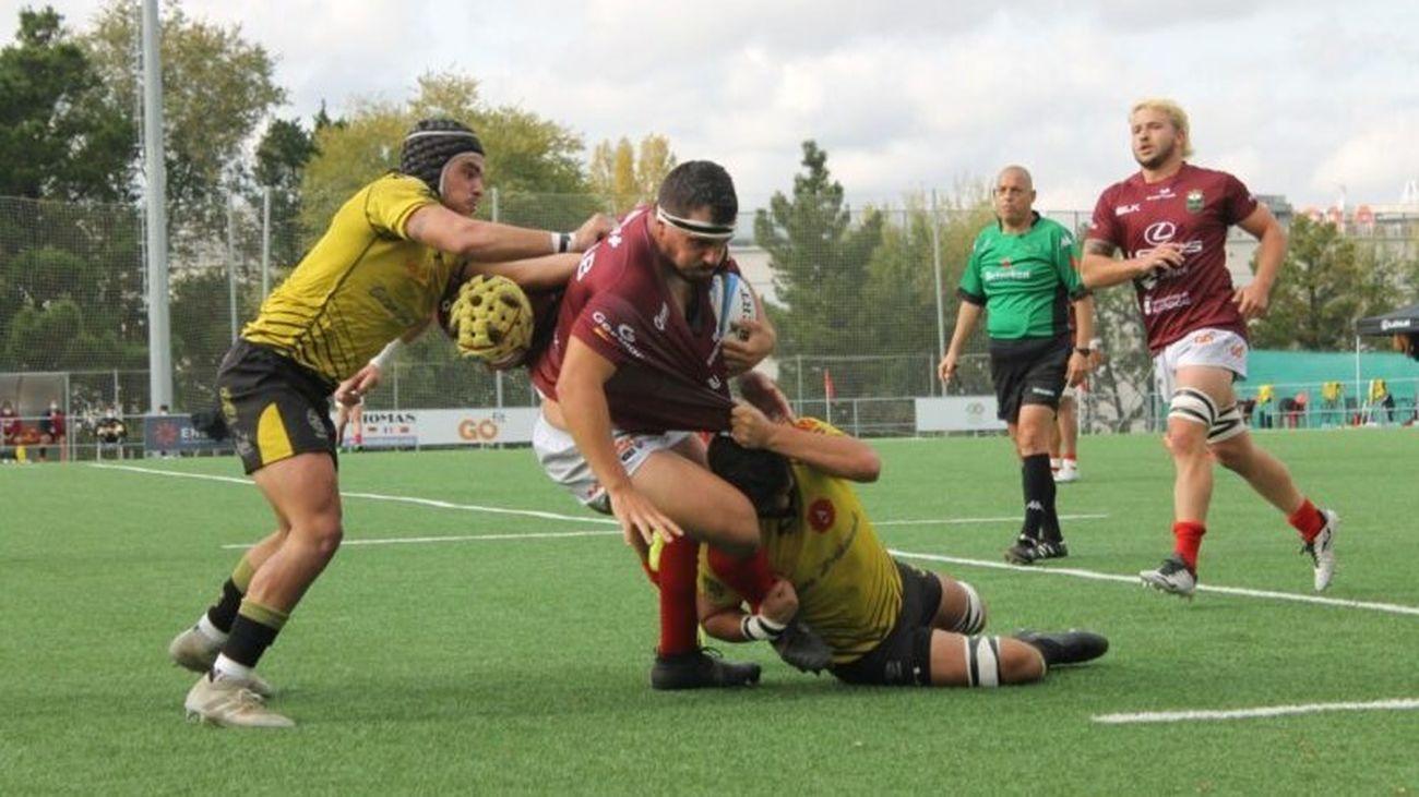 Alcobendas Rugby, paliza al Getxo y coliderato en la liga