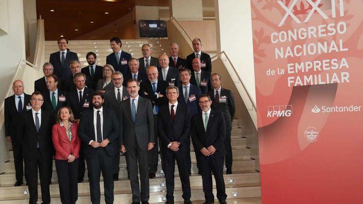 El Rey inaugura este lunes el congreso de la empresa familiar centrado en la crisis del Covid