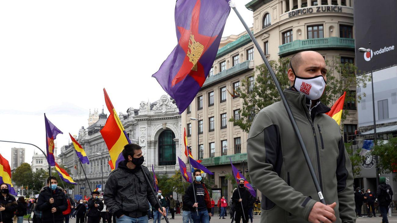 Decenas de colectivos se manifiestan en Madrid en defensa de los servicios públicos