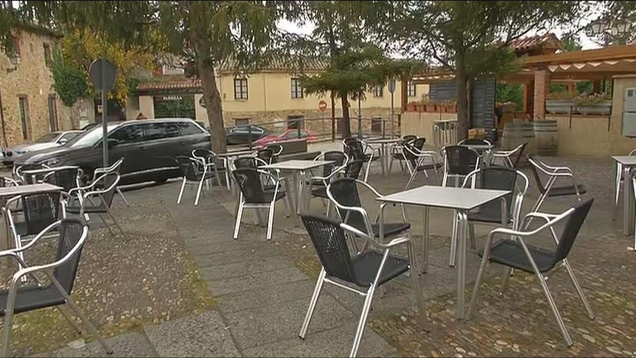 La hostelería se hunde en Buitrago del Lozoya