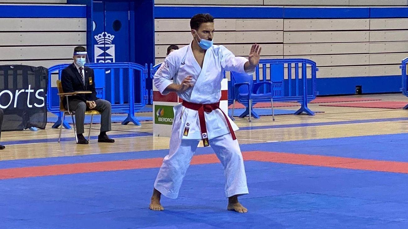 Almudena Muñoz analiza la Liga Nacional de Karate en Leganés