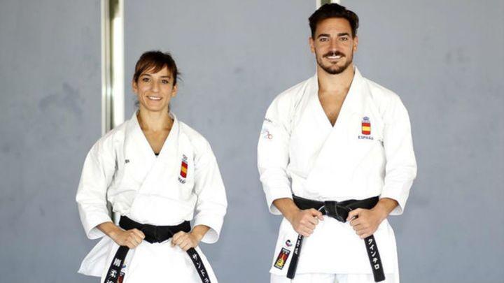 Sandra Sánchez y Damián Quintero triunfan en la Liga Nacional de Leganés