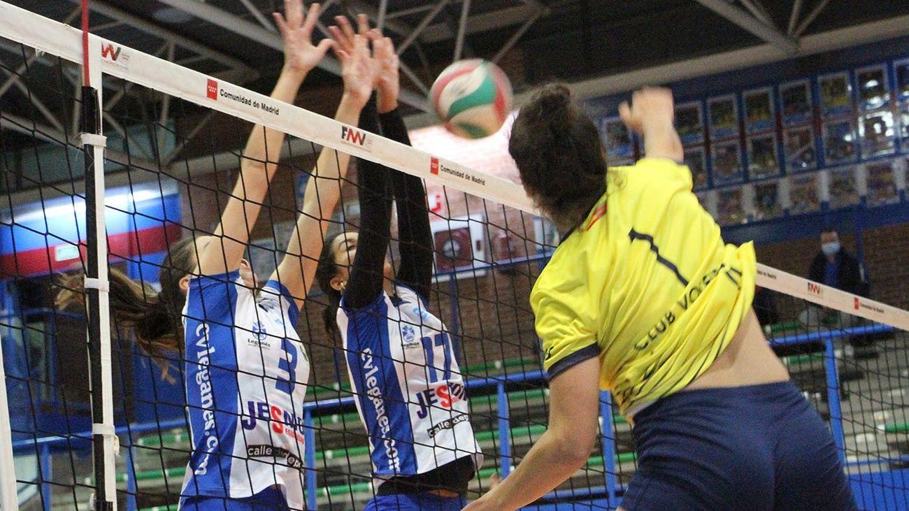 Voleibol Leganés, intratable en la Superliga Femenina 2