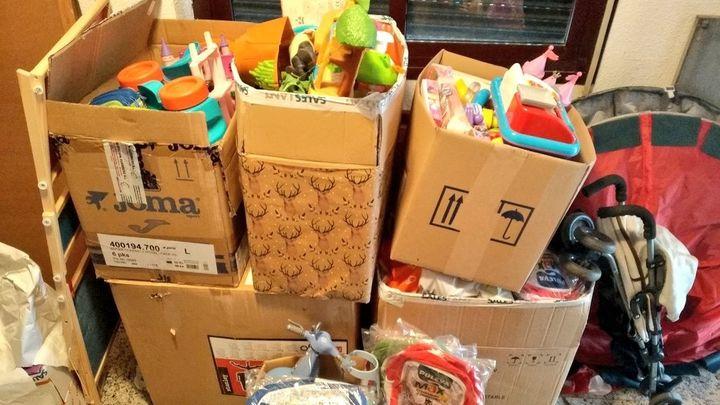AD Orcasitas arranca la campaña 'Ninguna familia sin comida, ningún niño sin juguete'