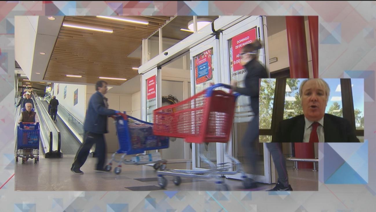 """Enrique García (OCU): """"En Madrid se pueden ahorrar 3.226 euros al año eligiendo bien el supermercado"""""""