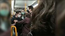 """Nueva bronca en el metro de Madrid: """"¡Mi tío acaba de fallecer por la Covid! ¿Y tú sin mascarilla?"""""""