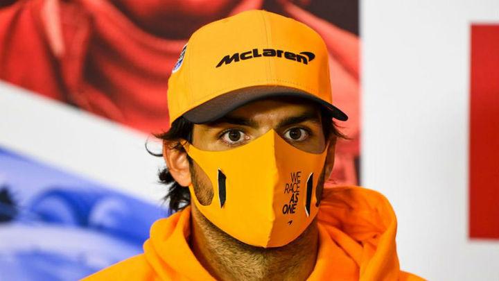 Sainz, sexto en el GP de Portugal tras ser líder cuatro vueltas